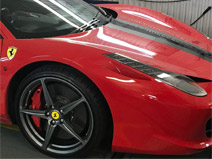 Clerkenwell motors also caters for state of the art vehicles such as Ferrari 458 Italia
